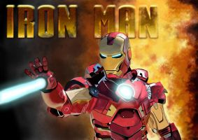 Iron Man Final Image by t0m1255