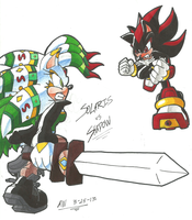 *POINT-COMMISSION*:  Solaris VS. Shadow by Armpit-Warrior
