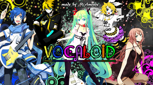 Vocaloid Wallpaper by MiAmoure