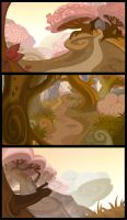 Magic forest_backgrounds by windmile