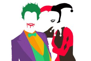 Joker and Harley by happy-smiley-robot