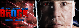 FB Cover - Brock Lesnar by BooDyGFX