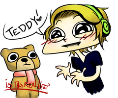 PewdiePie - Teddy by BrimRun