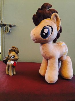 WIP Dr. Whooves Plush by EmbroideryMW101