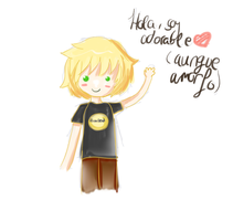 Little blond guy by Aimare