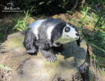 Rabbit Panda Bear (Posable) -- On Etsy by Red-Bunn3h