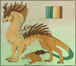 Adoptable Dragon Auction by RedTallin