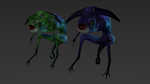 Creature: Smurk Low-Poly by Vinraxx