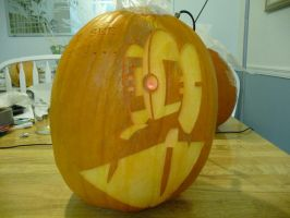 Turret Pumpkin 3 by ceemdee