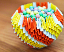 3D Origami Bowl by gracy2227