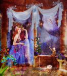 Muse of flowers and  Dreams by designdiva3