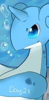 Day 21 : fav water type : Lapras by Kanomatsu