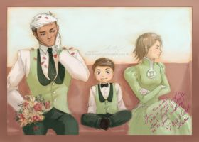 Wedding day GLTAS by Joan-Kagami