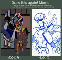 Draw This Again Meme by LochCamaen