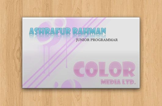 Color Card by ashraf882