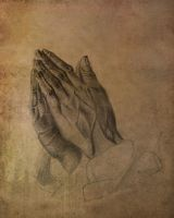 Hands in pray by Avalong