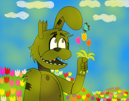 It's Spring Time by Wyldstyle101