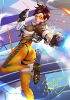 Fanart Tracer Overwatch on Patreon by TORN-S