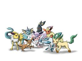 Eeveelutions by Ady-182