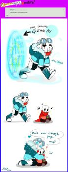 QuantumTale ASKVENTURE!: IF TK WENT TO GZTALE AU! by perfectshadow06