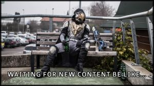 Waiting for new Destiny content by FredProps