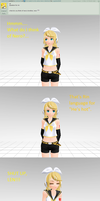 Question 1 for Kagamine Rin by LegolasGimli