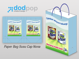 paper bag cap nona by dodpop