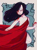 Lady in Red by GuroBird
