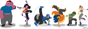 Breakdance(Sly Cooper) by Mimisia2367Pony