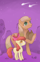 the apple family by RainbowChaserrr