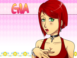Hatoful Boyfriend Oc: Gia Capello by HeellAwait