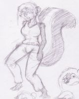 Another random skunkette by Halfwing