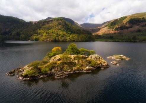 Ulswater Island by scotto