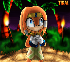 I must do something... - Tikal by morganchan