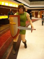 NES Link Cosplay by Lionofdemise