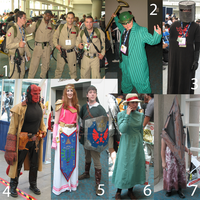 Comic Con Costumes - Friday 1 by feuergestalt