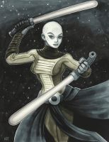 Asajj Ventress by MasonEasley