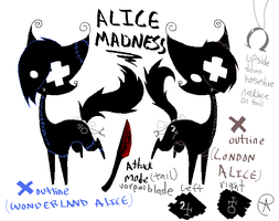 Reference- AliceMadness by DoomDollie
