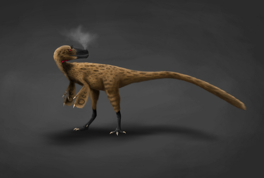 Eotyrannus Lengi by AlternatePrehistory