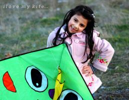 i love my kite by iremtural