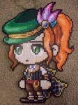 MapleStory - Perler Bead Wild Hunter by heatbish