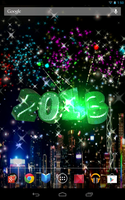 Android Live Wallpaper New Year Green by graphicated-cologne