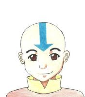 Aang by the-manga-man