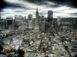 San Francisco City by Dirak
