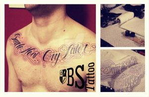 BS - Bulldog Studio - Smile Now Cry Later by TattooBulldog
