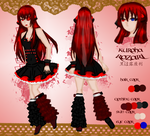 Kuroha Rozari Reference Sheet Entry by KireKirei1