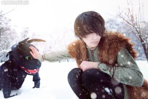 Touch - How to Train Your Dragon - Hiccup Horrendo by Pugoffka-sama