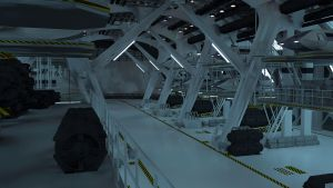 Enterprise (post STID) Hangar 1 by The-Didact