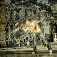 Boxe splash by Etienne-RUGGERI