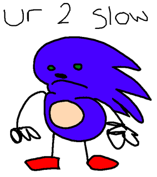 sanic by Let-The-Memes-Flow